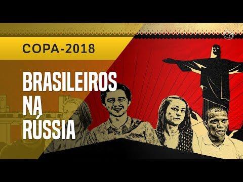 BRASILEIROS NA RÚSSIA:
