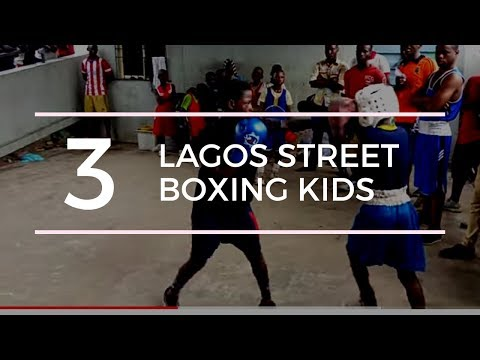 Lagos street fights....Young boxing talents thumbnail