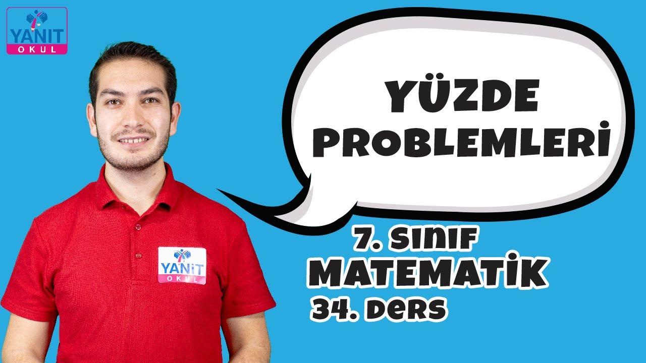 Yüzde Problemleri | 7. Sınıf Matematik Konu Anlatımları