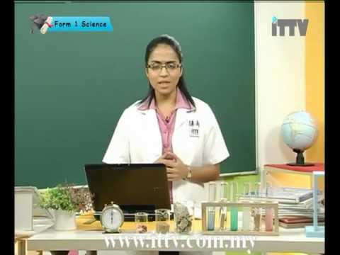 iTTV PMR/PT3 Form 1 Science #1 Introduction to Science (What is Science?) -tuition