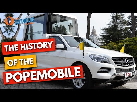 Episode 13: The Fast & The Glorious: The History Of The Popemobile | The Catholic Talk Show