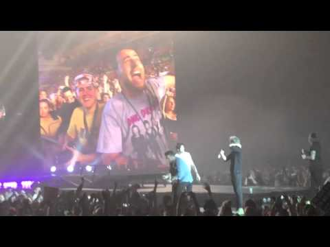 One Direction // The conga ft Act My Age Dancing // Sheffield