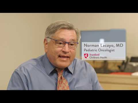 Norman Lacayo, MD – Oncology, Stanford Children's Health