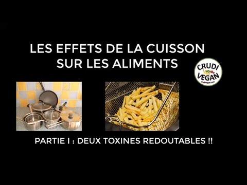 Les effets de la cuisson sur les aliments : acrylamide et AEGs