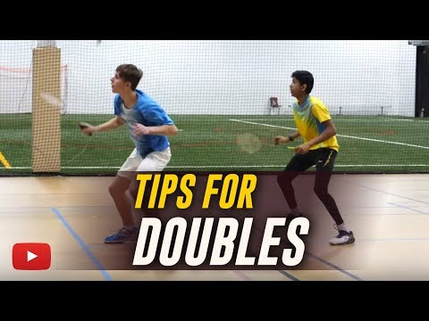 Badminton Tips For Doubles - Coach Andy Chong