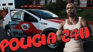 COMO BAIXAR MOD DA POLICIA NO GTA SAN ANDREAS - Mod Policia 24Horas (Link de Download )