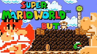 Super Mario World but... it's a Remake of Super Mario Land 1 and 2 with Thicc Princess Peach
