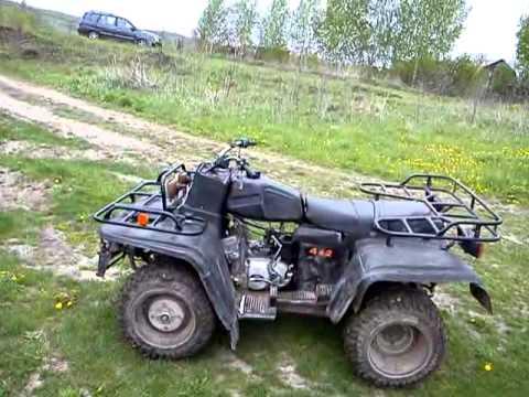 Квадроцикл Рысь 2 едет сам