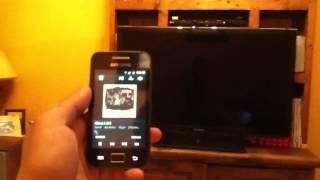 Sincronizar teléfono y televisor Samsung