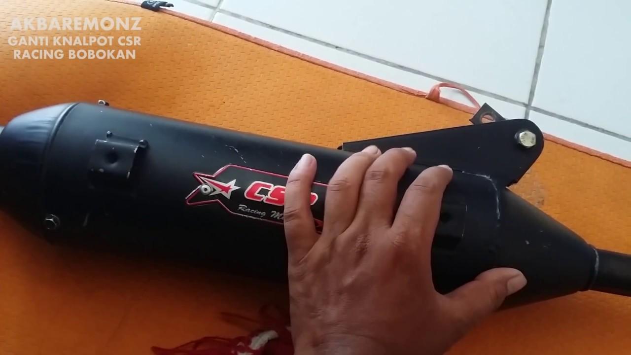 Suara Knalpot Bobokan Khou Dan Csr Standar Racing Youtube Matic Mio J Gt Merk