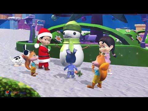 Nhạc Noel Thiếu Nhi - Nhạc Giáng Sinh cho Bé | Jingle Bells | Nhạc Giáng Sinh Sôi Động Nhất 2018