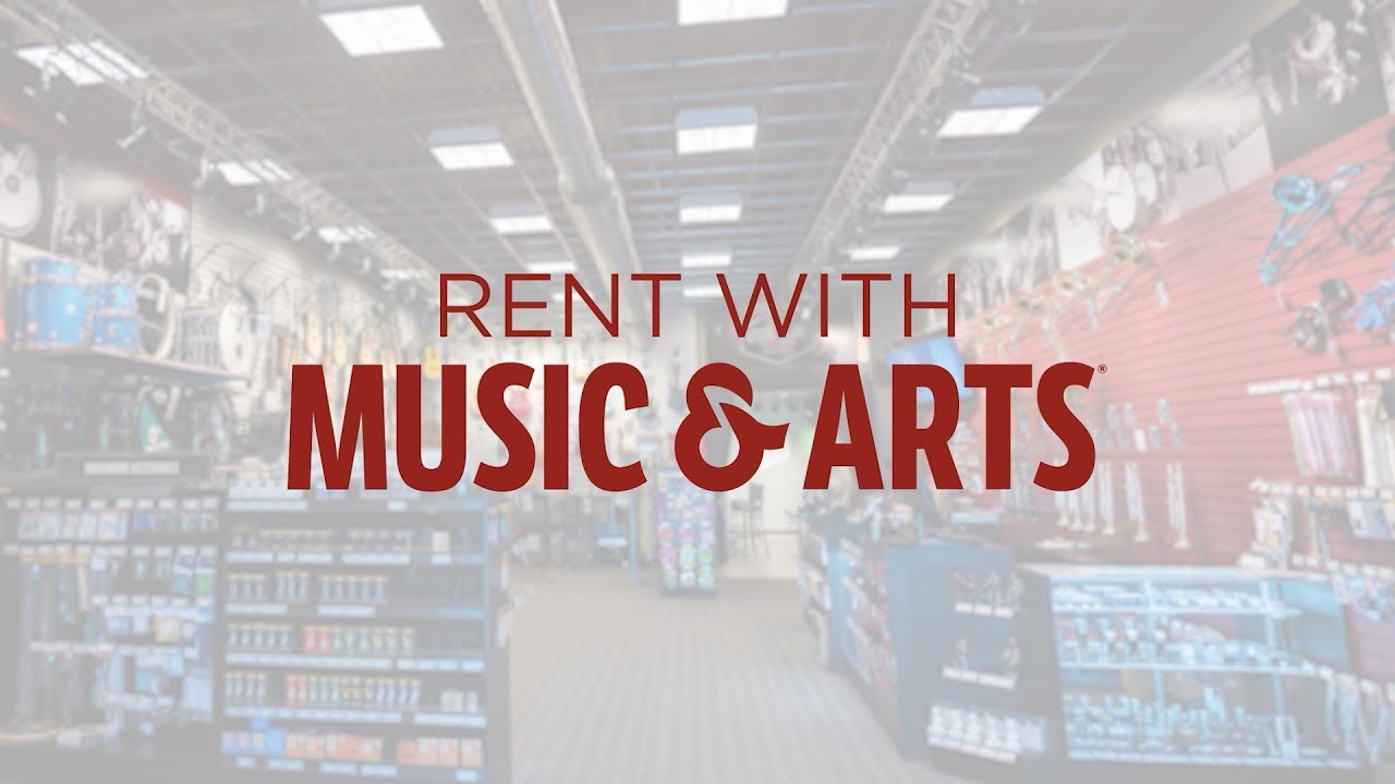 Rent With Us at Music & Arts