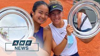 Alex Eala, Russian partner win French Open girls' doubles   ANC