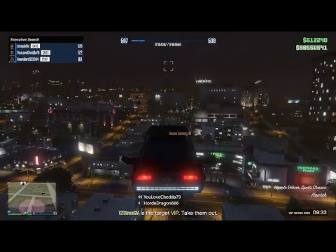 GTA5 The Vespucci Job Adversary mode.