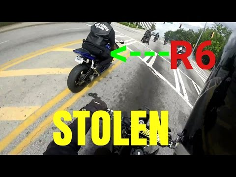 Found My Old R6!! and it's stolen...