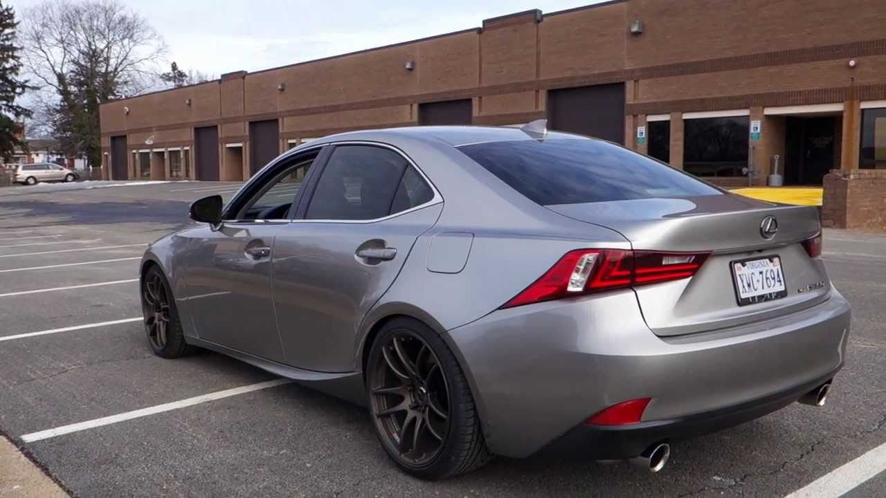 2014 lexus is350 f sport exhaust under full acceleration youtube. Black Bedroom Furniture Sets. Home Design Ideas