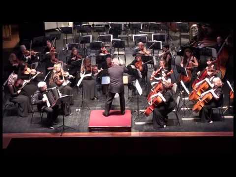 Р.Гальяно Оpale Concerto для баяна с оркестром, 3 часть Allegro energico