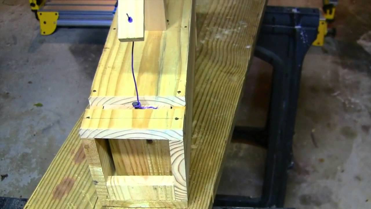 Simple Rabbit Box Trap Youtube