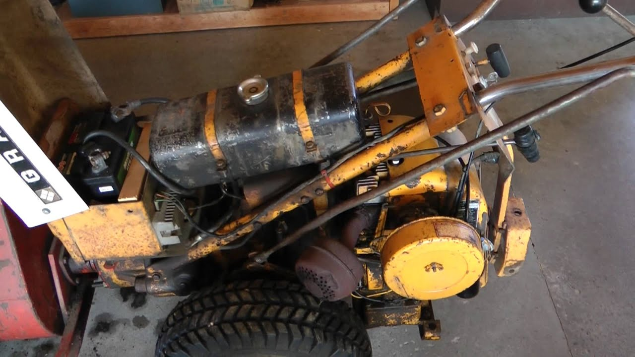 1968 Gravely Commercial 10a Tune Up Amp Top End Rebuild