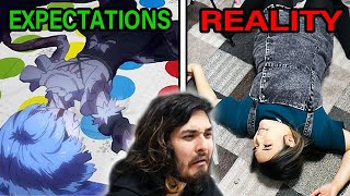The IMPOSSIBLE Anime Poses Challenge! (ft. akidearest)