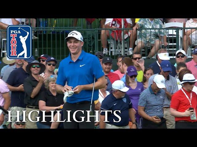 Aaron Wise's Highlights | Round 4 | Wells Fargo