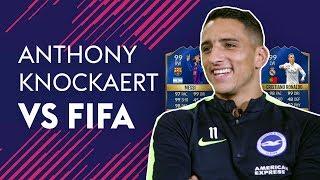KNOCKAERT IS MORE AGILE THAN MESSI & RONALDO! | ANTHONY KNOCKAERT VS FIFA 18 🔥🔥🔥