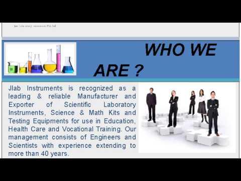 Scientific Laboratory and Education Equipment's Manufacturer - JLab