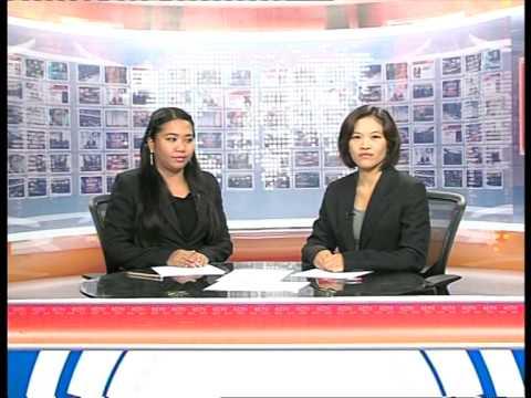 English News on Korat Cable TV (30 May 14)