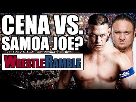 John Cena Vs. Samoa Joe Feud!? WWE Summerslam 2017 Preview! | WrestleRamble