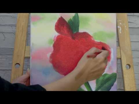 Painting Stage油畫教學-扶桑花 How to Paint the Hibiscus