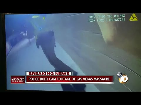 Police body cam footage of Las Vegas massacre