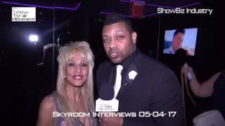 Skyroom NYC Fashion Interviews 05-04-17 by Sakar- www.ShowBizMovement.com