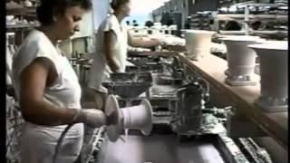 видео Завод по производству фарфоровых изделий «Херенд» Herend porzellan