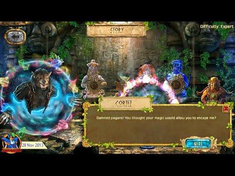 The Treasures of Montezuma 4 (2013, PC) - Intro & Level 01 [720p50]