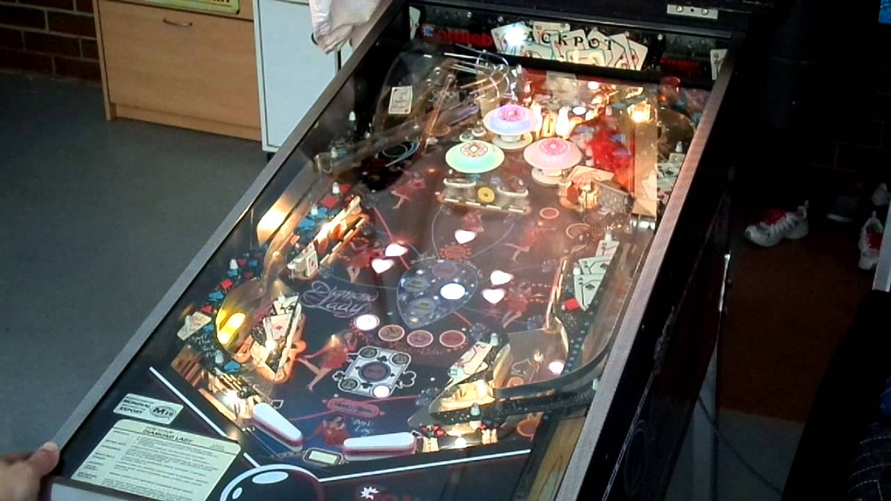diamond lady pinball machine gottlieb 1987 youtube rh youtube com Gottlieb Pinball Machine Troubleshooting Gottlieb Pinball Machine Values