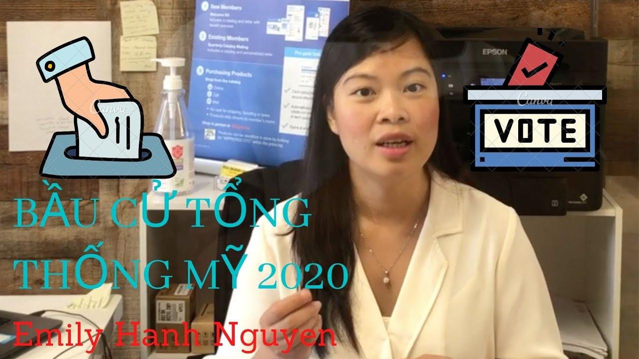Cách Bỏ Phiếu Bầu Cử Tổng Thống 2020 Chỉ Cần ID | Emily Broker's Group ( EBG )