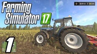 Farming Simulator 2017 - Getting Started! - E01 (PC Gameplay 1080p60)