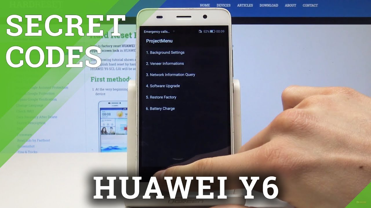 Codes HUAWEI Y6 2019 - HardReset info