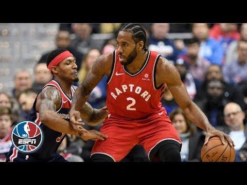 Kawhi Leonard, Bradley Beal score 40+ points each in Raptors' 2OT win | NBA Highlights