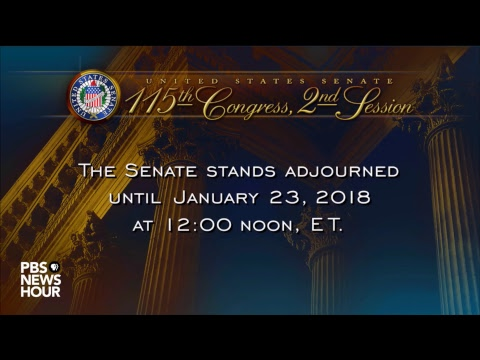 WATCH: Senate votes in attempt to restart U.S. government after shutdown