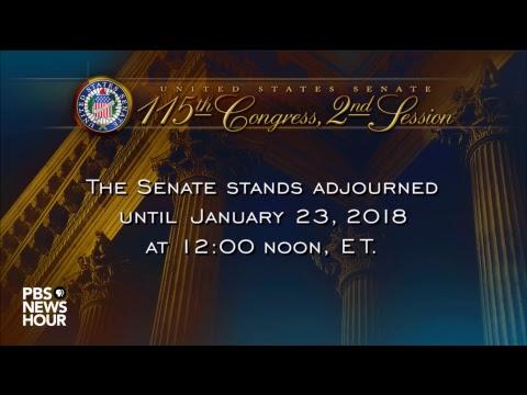 WATCH LIVE: Senate votes in attempt to restart U.S. government after shutdown