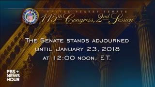 WATCH: Senate votes in attempt to restart U.S. government after shutdown