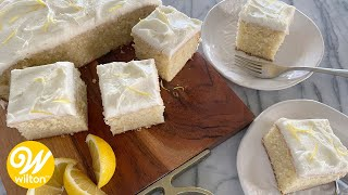 Easy Lemon Cake Recipe | Wilton