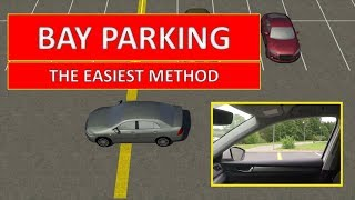 Learn how to PARK IN A BAY. The easiest driving lesson (by Parking Tutorial)