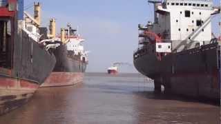 ship beaching 112 (alida gorthon)