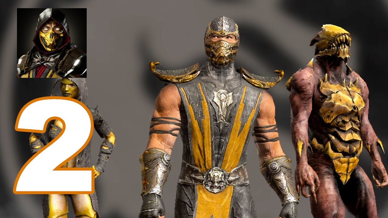 Mortal Combat: Mobile - Gameplay Walkthrough Part 2 - Scorpion, D'Vorah, Oni (Android Games)