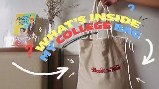 ?let's unpack my college bag ?…