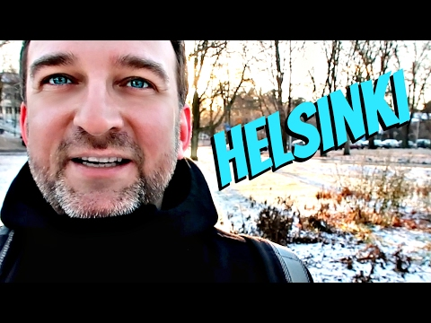 Helsinki Finland Travel Tips | Walkthrough Vlog on Winter Day