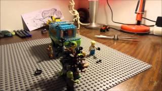 Scooby Doo simple Lego animación Cz en čestině