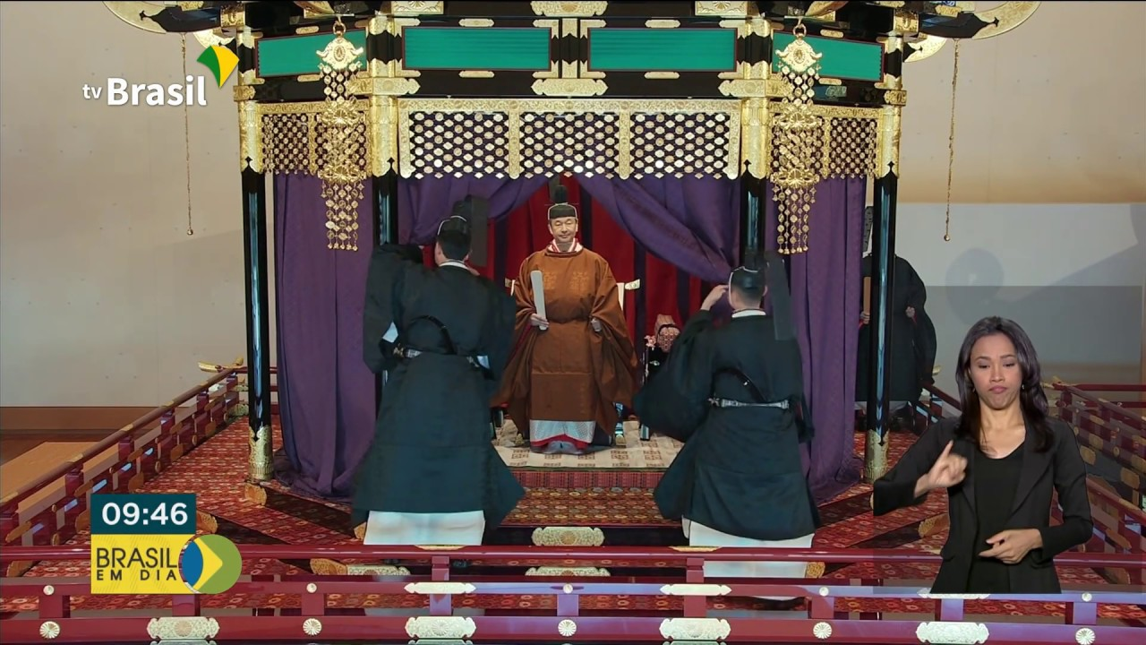 Cerimônia de Proclamação da Entronização do Imperador do Japão, Naruhito